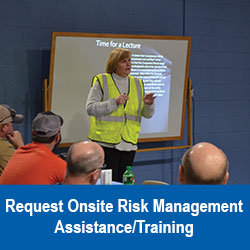 Request Onsite Risk Managment